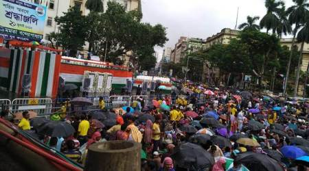 TMC Martyrs' day rally LIVE UPDATES: Heavy police personnel deployed acrossKolkata
