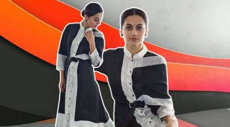 Taapsee Pannu's obsession for fusion continues in this deconstructed kurti