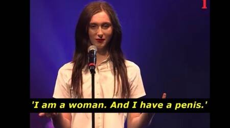 VIDEO: This trans woman's poetry on why she refuses to be a 'real woman' is inspiring, to say theleast