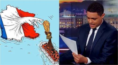WATCH: Comedian Trevor Noah hits back at French envoy over 'racist' World Cup joke