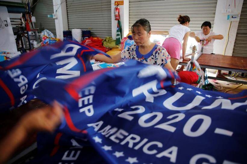 Made in China: Trump re-election flags may get burned by his tariffs