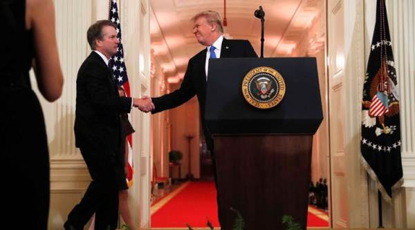 Donald Trump picks conservative judge Brett Kavanaugh for US Supreme Court