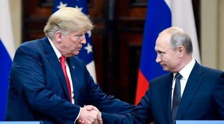 Donald Trump invites President Putin to Washington despite uproar over Helsinki summit
