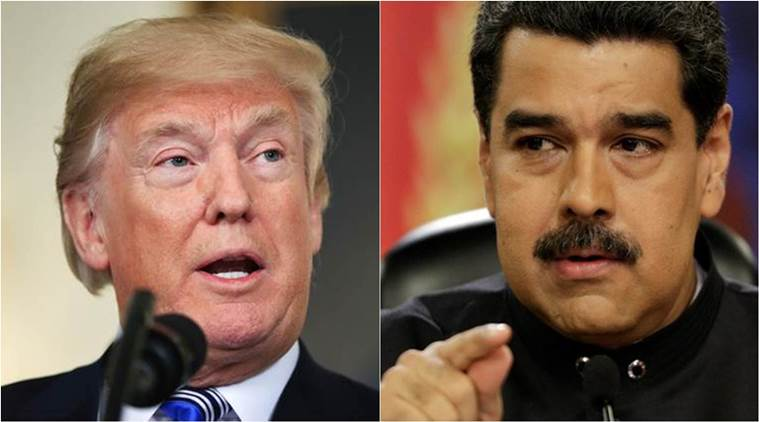 venezuela, donald trump, nicolas maduro, venezuela invasion, south america, united states, indian express