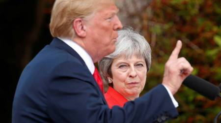 Brexit: UK PM Theresa May says Donald Trump told her to sue European Union