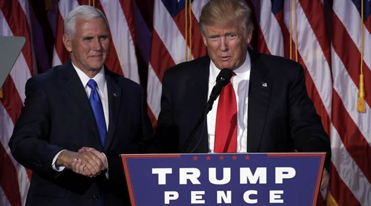 As Donald Trump weighs options, Mike Pence meets with court contenders