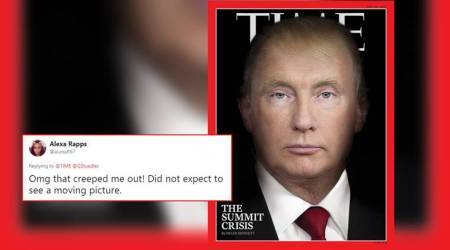 Time magazine's latest cover morphs Trump, Putin's faces; Twitterati say 'it's outright creepy'