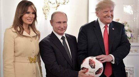 Vladimir Putin's soccer ball gift to Donald Trump gets routine security check