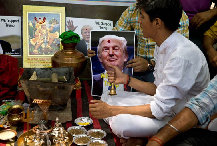 The selectively apolitical Indian (who is more bothered about Trump than Modi)