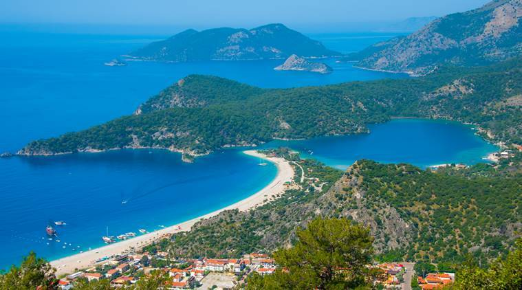 Where butterflies get the blues: Turkey's Ölüdeniz beach is