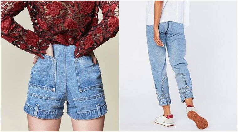Upside down jeans, CIE denims, Stranger Things, strangers things inspired denims, upside side denims, stranger things inspired jeans, indian express, indian express news