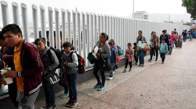 17,000 members of migrant families in US-Mexico border arrested in a month