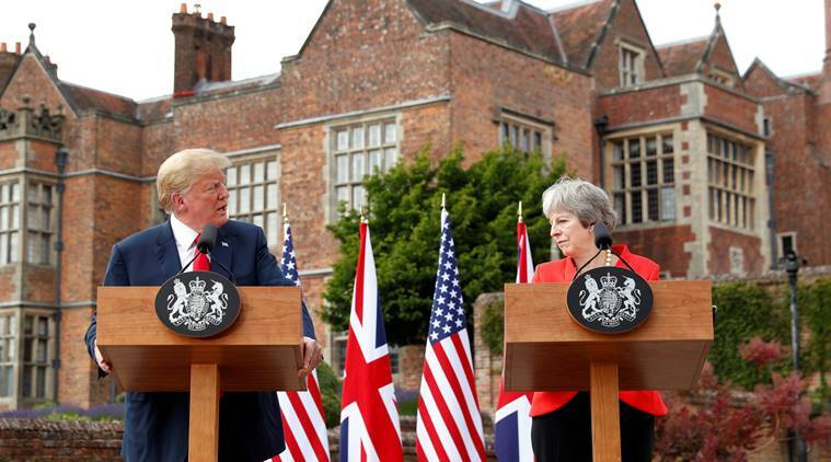 'The highest level of special': Trump praises US-UK relationship