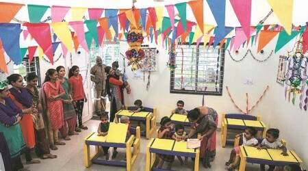 Vadodara rural police HQ gets anganwadi, library