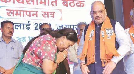 Vasundhara Raje will lead BJP in Rajasthan Assembly poll, announces Amit Shah
