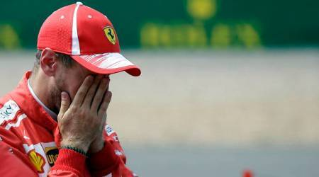 Silverstone proves a pain in the neck for SebastianVettel