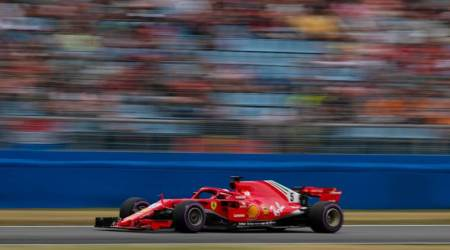 Sebastian Vettel on pole in Germany but drama for Lewis Hamilton