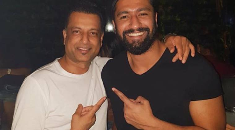 vicky kaushal with paresh ghelani