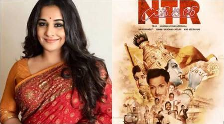 vidya balan to play NTR wife in NTR biopic