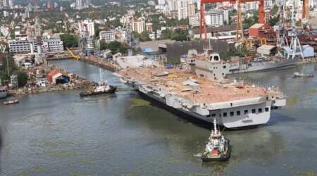 Sea trials of Vikrant expected to commence by 2020