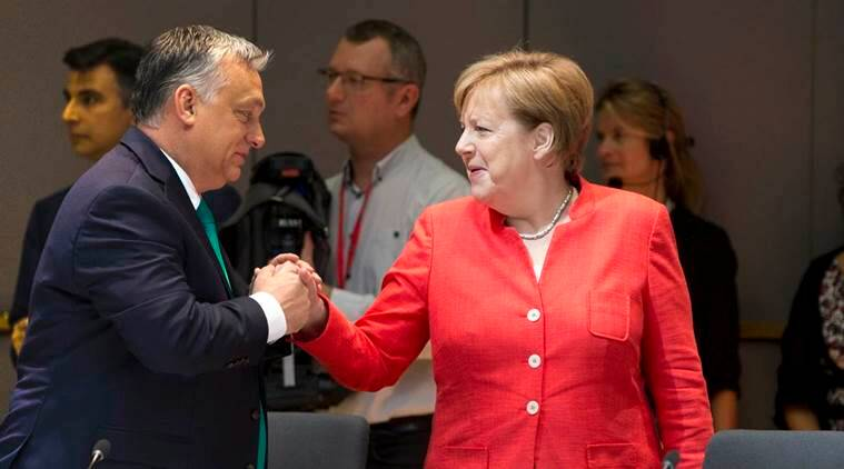 Hungary's Orban open to bilateral migration deal with Germany's Merkel