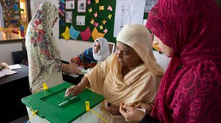 Women in Pakistan's conservative parts cast votes for first time