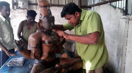 Swamimalai's bronze idols, CERN, Geneva, Switzerland, village of Kumbakonam, Tamil Nadu, Chola bronze idols, indian express