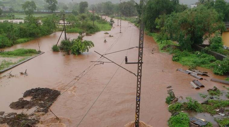 Weather LIVE UPDATES: Train services affected as heavy rain lashes Maharashtra