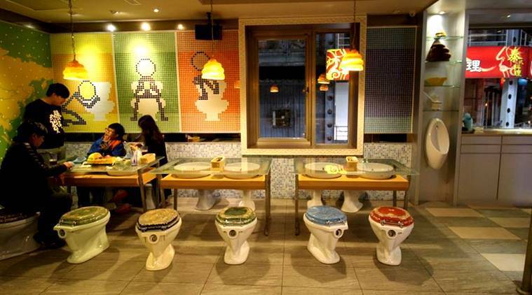 weird theme restaurants, Hard Rock Cafe, United States, Craziest Themed Restaurants, toilets Restaurants, hospitals Restaurants, prisons Restaurants, airplanes Restaurants, indian express