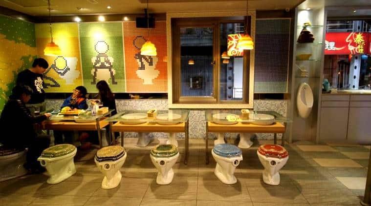 From toilet to snakes crazy 'theme restaurants around