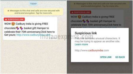 WhatsApp 'suspicious link detection' live for Android beta users, official post explains feature