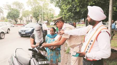 Panchkula: 1,000 women challaned since June 1