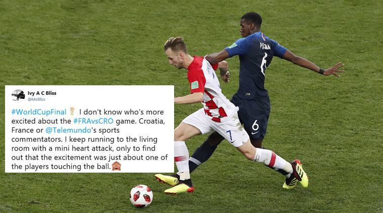world cup final, fifa world cup 2018, france vs croatia, football world cup 2018, world cup 2018 final, social media buzz world cup final, fifa news, sports news, indian express