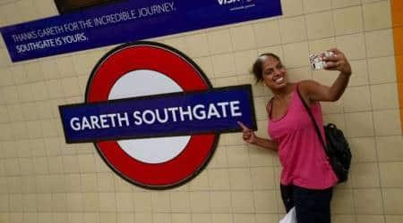 Train station named after England's soccer team manager GarethSouthgate