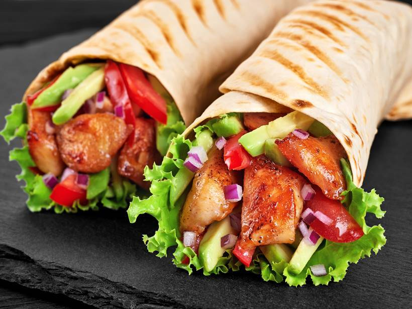 wraps, chef de cuisine, mumbai food, chicken wrap, healthy food, beetroot quinoa galette, multigrain whole wheat chicken wrap, indian express, indian express parenting