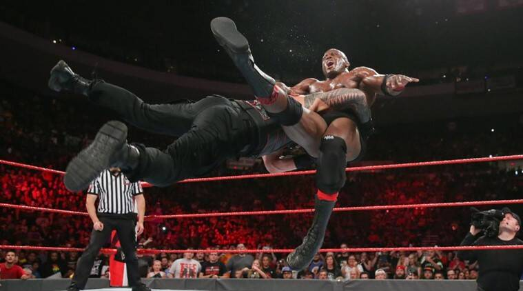 wwe raw results roman reigns sets up brock lesnar blockbuster at