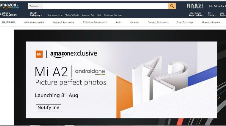 Mi A2, Mi A2 price in India, Xiaomi, Xiaomi Mi A2, Xiaomi Mi A2 launch date in India, Xiaomi Mi A2 price, Xiaomi Mi A2 Amazon price, Xiaomi Mi A2 features, Xiaomi Mi A2 specifications, Xiaomi Mi A2 review