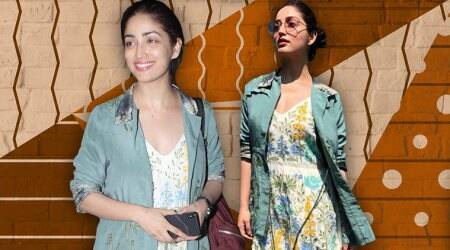 Yami Gautam is summer ready in this sporty yet stylish Anita Dongre mini dress
