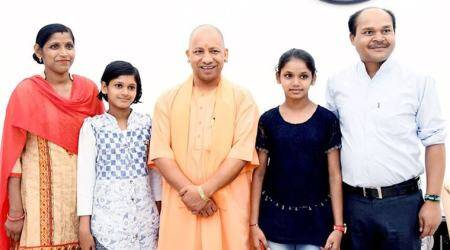 UP Chief Minister Yogi Adityanath rewards sisters with Rs 51,000 each for their 'sharp memory'