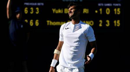 Yuki Bhambri crashes out of Wimbledon 2018