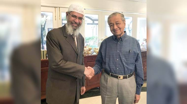 Image result for mahathir mohamad and zakir naik