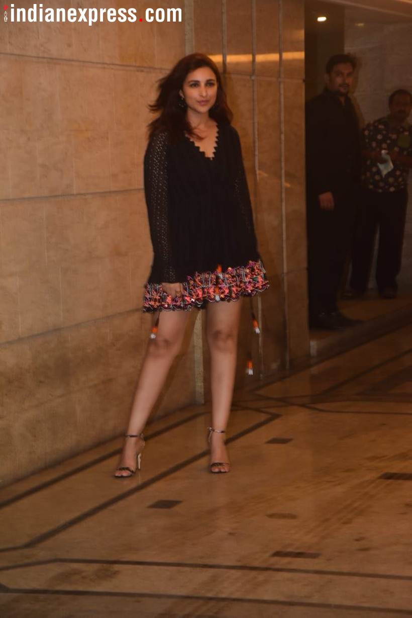 parineeti chopra at pc and nick's party