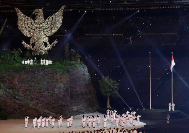 Indonesia Asian Games Opening Ceremony