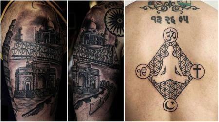 Independence Day 2018, 72nd Independence Day 2018, Independence Day tattoos, Independence Day designs, Independence Day painted tattoos, Independence Day tattoo designs, patriotic tattoos, indian express, indian express news