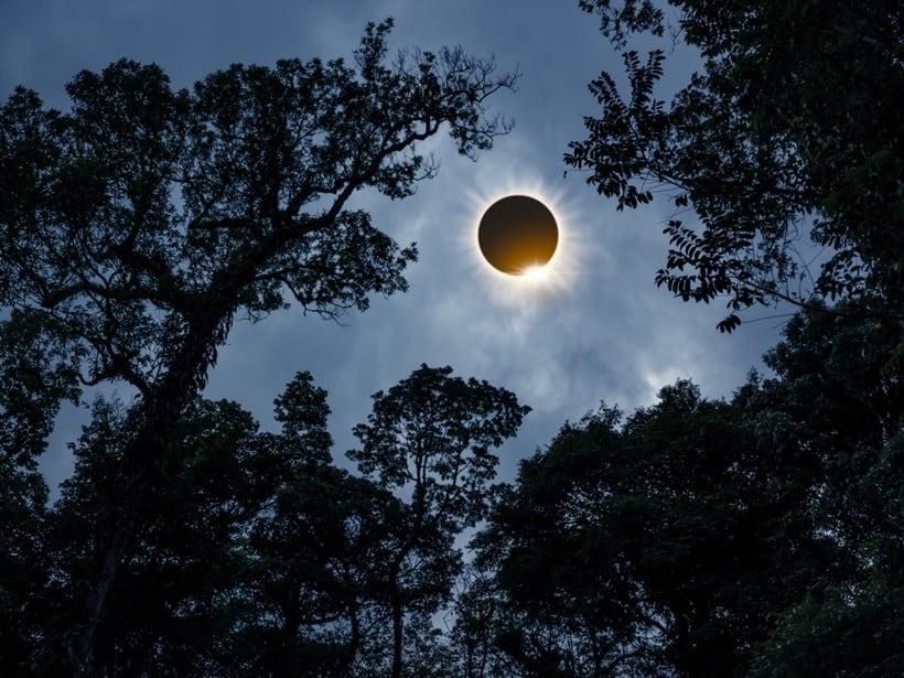 Surya Grahan or Solar Eclipse 2018, solar eclipse diamond