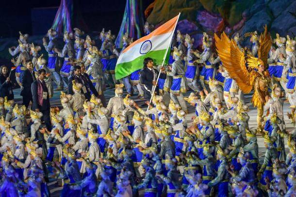 Neeraj Chopra leads India in fireworks-filled Asian Games opening ceremony