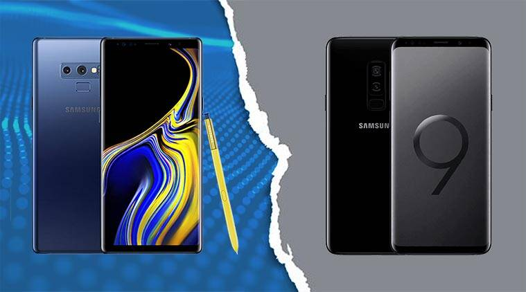 9d09a44729 Samsung Galaxy Note 9 vs Galaxy S9+  What s the difference ...