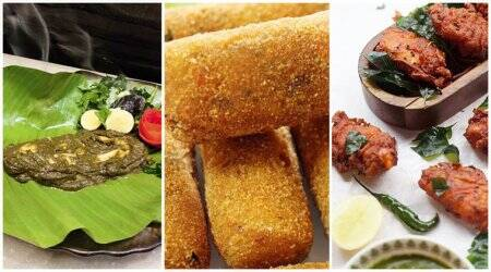 Parsi bhonu recipes, Parsi New Year recipes, dishes to cook on Parsi new year, recipe for Parsi mutton cutlets, recipe for Patrani machchi, recipe for chicken Farcha, non veg parsi recipes, indian express, indian express news
