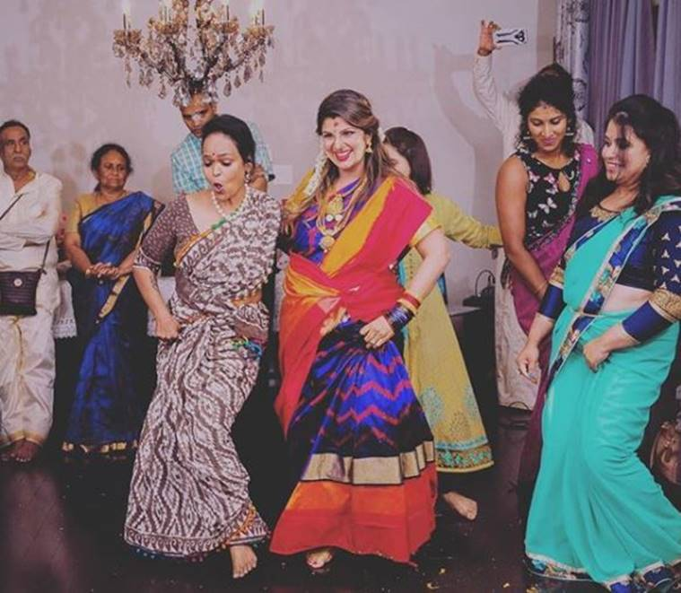 Rambha Dances Away At Baby Shower See The Adorable Photos Entertainment News The Indian Express