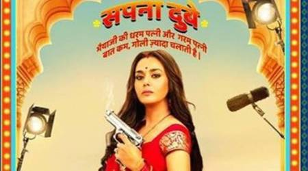 Preity Zinta shares her look from Bhaiaji Superhit
